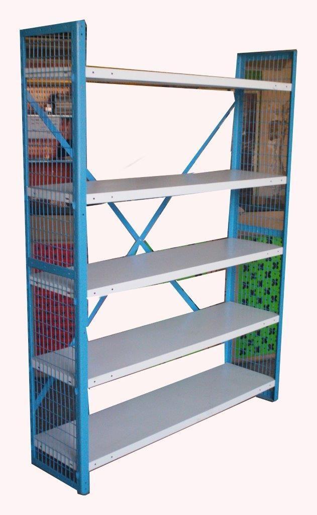 5 Rows Wire Mesh Storage Unit